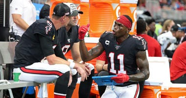 Falcons QB Matt Ryan and WR Julio Jones