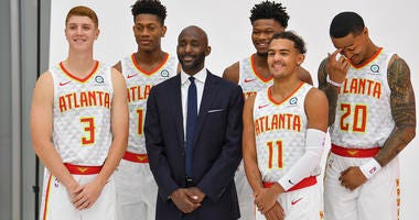Atlanta Hawks Head Coach Lloyd Pierce