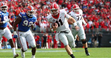 Shockley: UGA offense not at same 'caliber' as LSU, Bama