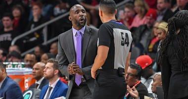 Atlanta Hawks Head Coach Lloyd Pierce
