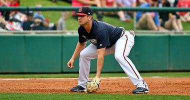 Atlanta Braves third baseman prospect Austin Riley