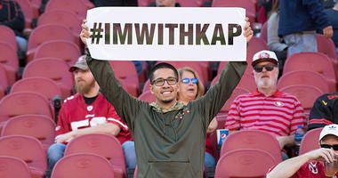 Colin Kaepernick fan