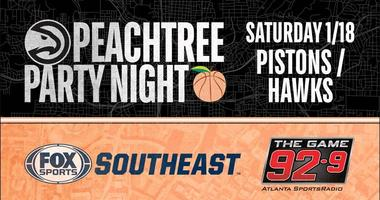 peachtree party night