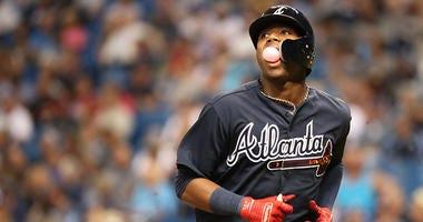 Atlanta Braves left fielder Ronald Acuna Jr.