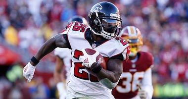 Atlanta Falcons running back Tevin Coleman