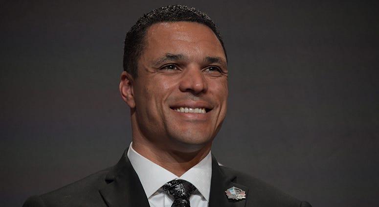 Pro Football Hall of Fame tight end Tony Gonzalez