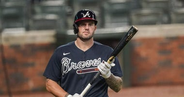 Atlanta Braves First Baseman Matt Adams