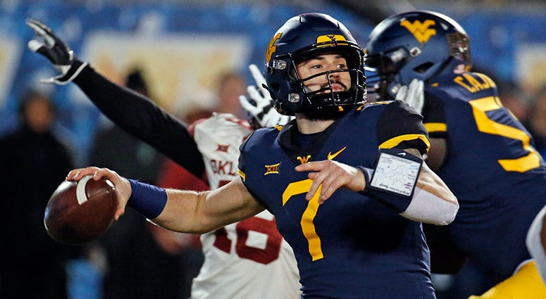 Will Grier of the West Virginia Mountaineers
