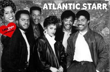 Atlantic Starr Secret Lover 1st on Late Night Love