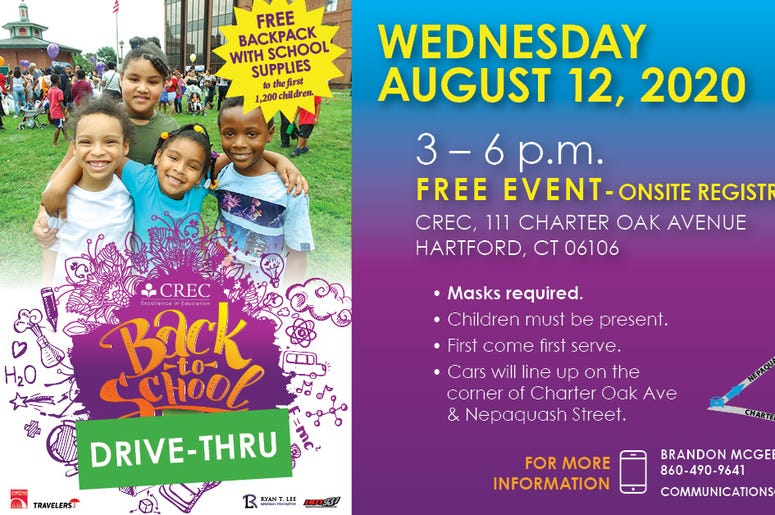 CREC Back To School Drive-Thru