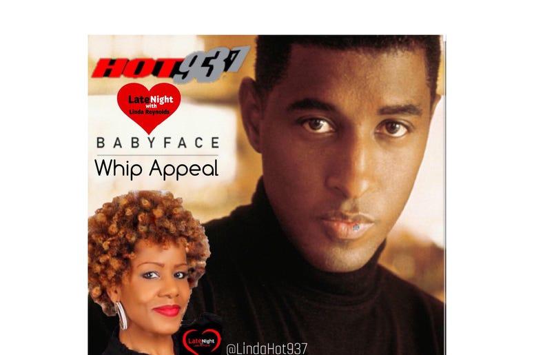 Babyface 1st on Late Night Love