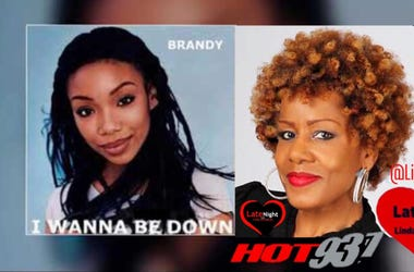 Brandy 1st #LateNightLove @LindaHot937
