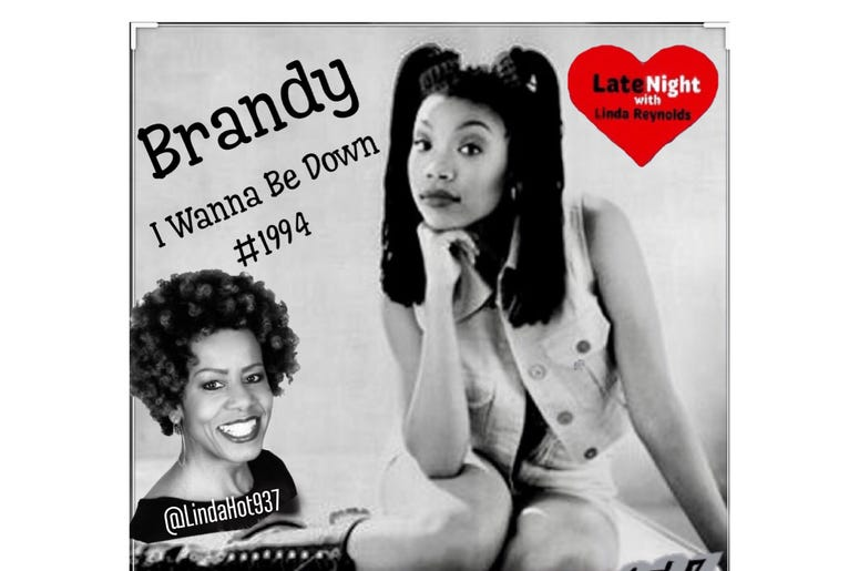 #TBT Late Night Love spotlight is on Brandy