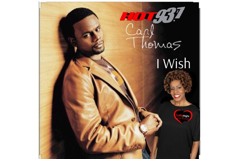 Carl Thomas on Late Night Love