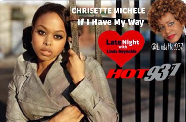 Chrisette Michele 1st Late Night Love @Lindahot937