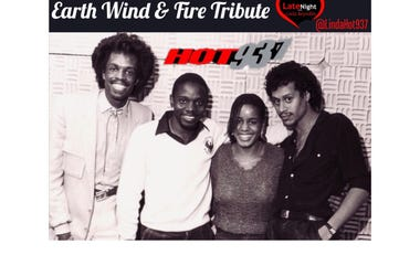Earth Wind & Fire 70s Set 1st on Late Night Love