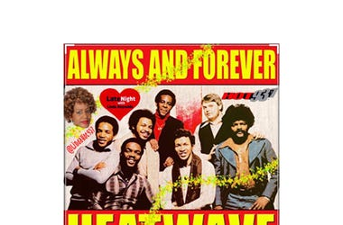 Heatwave Always and Forever 1st on Late Night Love