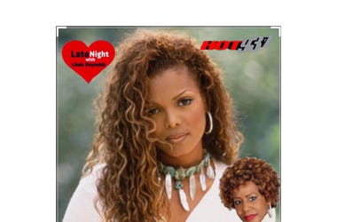Janet Jackson That's The Way Love Goes 1st on Late Night Love