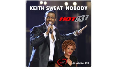 Keith Sweat Nobody 1st  on Late Night Love