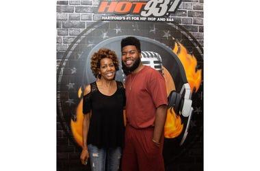 Khalid Host of Hot 93.7's Backyard Barbecue