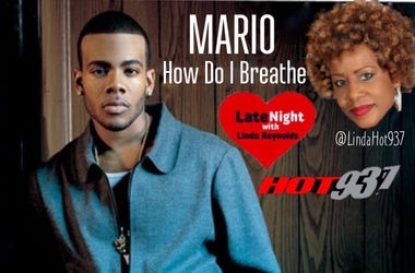 Mario 1st #LateNightLove on Hot 93.7