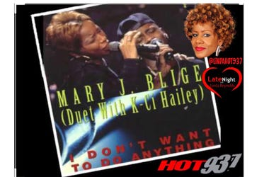 Mary J. Blige & K-Ci 1st on Late Night Love