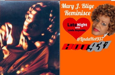 Mary J. Blige 1st Late Night Love @LindaHot937