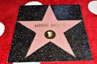 Minnie Mouse's star on the Hollywood Walk of Fame