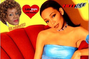 Monica and 112 1st #LateNightLove @LindaHot937