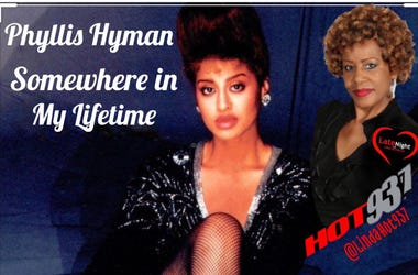 Phyllis Hyman 1st Late Night Love @LindaHot937