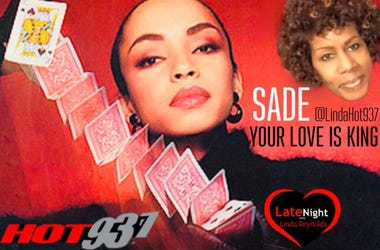 Sade #TBT Set 1st #LateNightLove @LindaHot937
