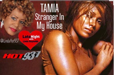 Tamia 1st #LateNightLove on Hot 93.7