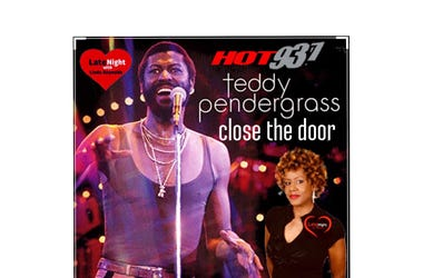 #TBT Late Night Love Teddy Pendergrass Close The Door 1st