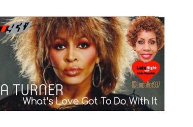 Tina Turner 1st on Late Night Love