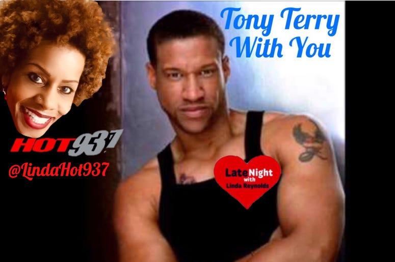 Tony Terry 1st on Late Night Love
