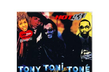 Tony Toni Tone 1st on Late Night Love