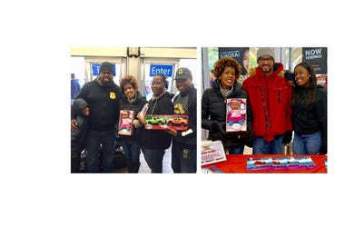 Hartford Police Hartford Guardians Toy Drive with Hot 93.7