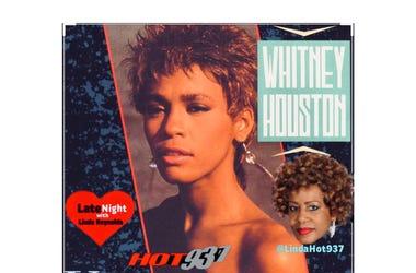 Whitney Houston 1st on Late Night Love