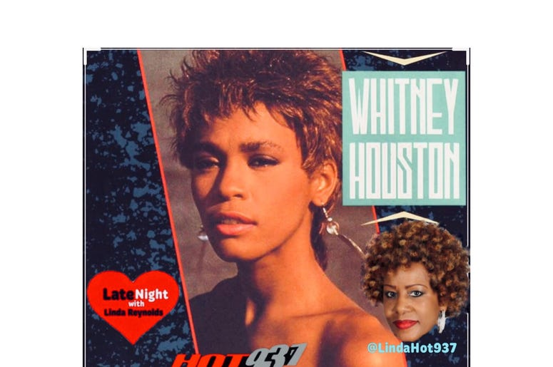 Whitney Houston 1st on Late Night Love