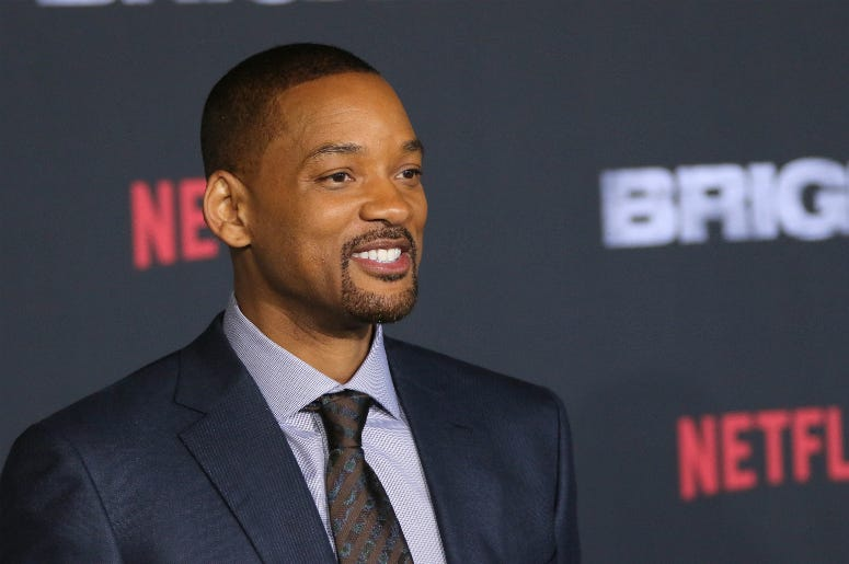 "Will Smith at the Premiere of Netflix's ""Bright"""