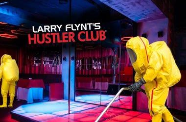 Dirt Report: Larry Flynt's Hustler Club will not close amid