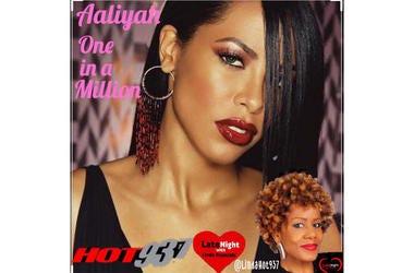 Aaliyah One in a Million 1st #LateNightLove
