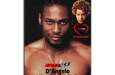 D'Angelo 1st on Late Night Love