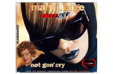 Mary J. Blige 1st on Late Night Love
