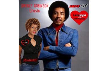 Smokey Robinson Crusin' 1st Late Night Love