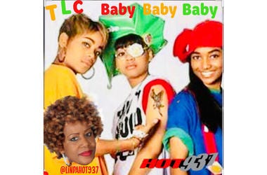 TLC Baby-Baby-Baby 1st on Late Night Love