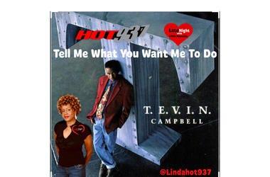 Tevin Campbell 1st #LateNightLove