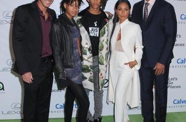Jada Pinkett Smith and Family