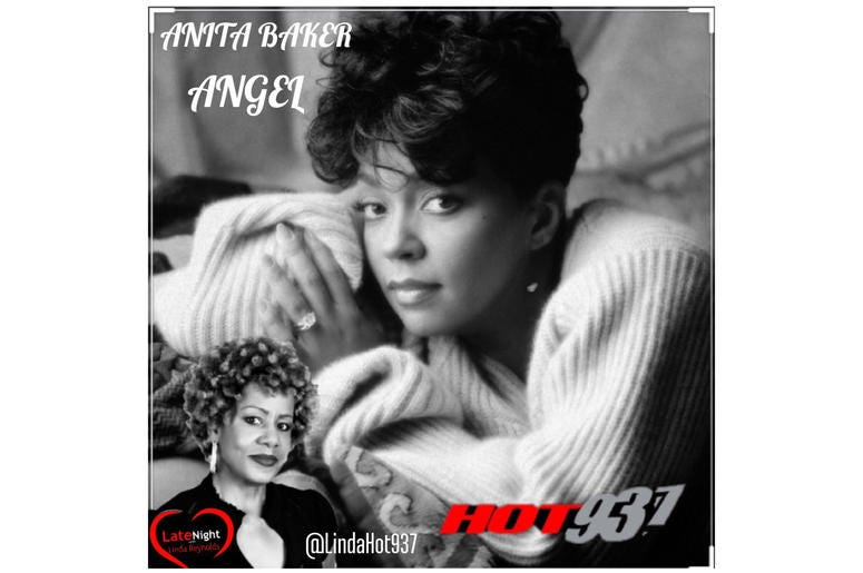 Anita Baker Angel 1st on Late Night Love