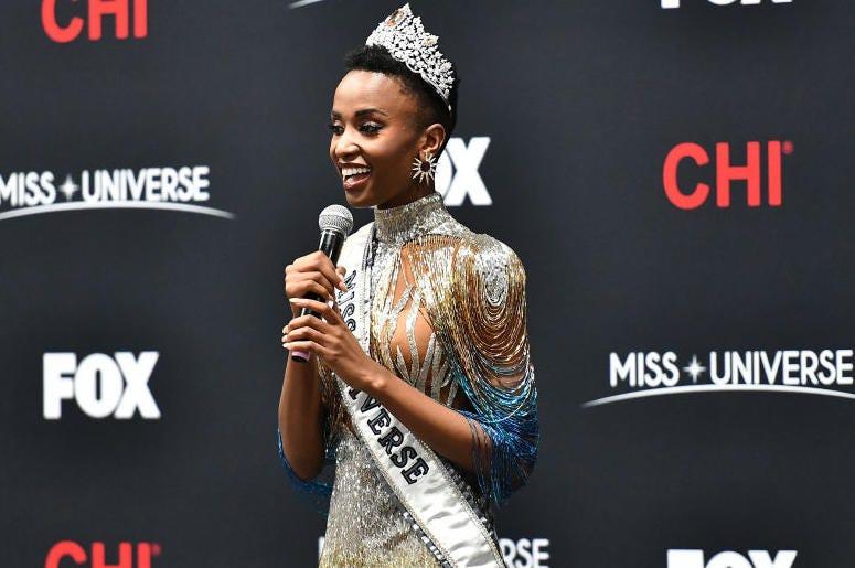 Miss Universe 2019, Zozibini Tunzi of South Africa